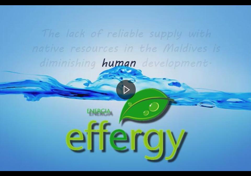 EFFERGY ENERGY contributes to the development of Maldives