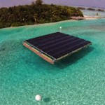 Gili Lankanfushi resort in Maldives, goes green with floating solar panels